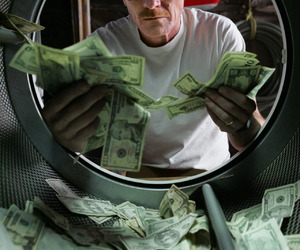 breaking bad, money, and walter white image