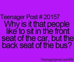 teenager post and bus image
