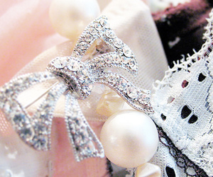 pearl, cute, and diamond image