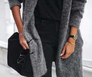 bag, chic, and jacket image