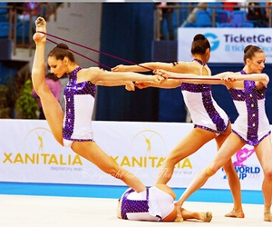 group and rhythmic gymnastics image