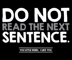 quote, rebel, and funny image