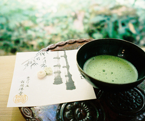 green, japan, and tea image