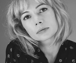 black and white, michelle williams, and photography image