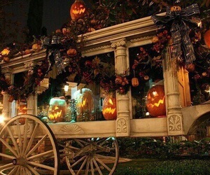 autumn, Halloween, and decoration image