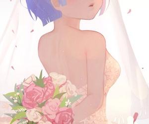 anime, girl, and rem image