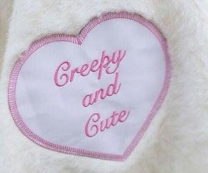 pink, cute, and creepy image