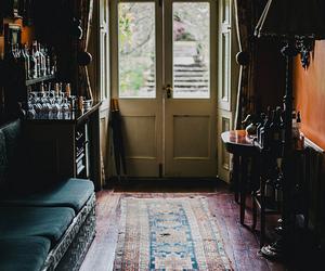 vintage, room, and door image