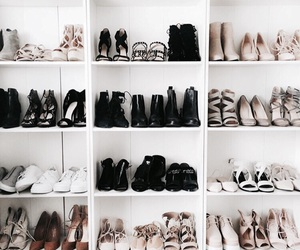 collection, girl, and shoes image
