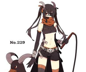 anime, houndoom, and humanized image