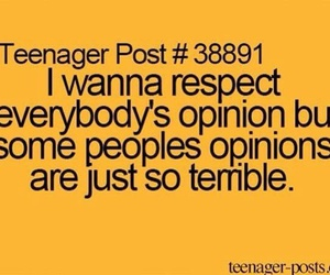 teenager post, opinion, and quote image