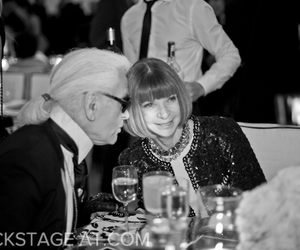 chanel, karl lagerfeld, and vogue image
