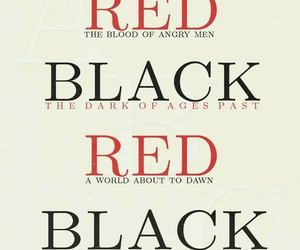 black, los miserables, and red image