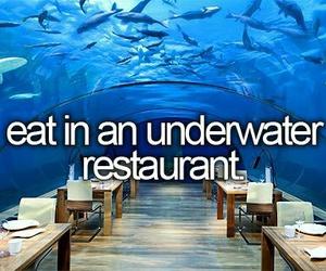restaurant and bucket list image