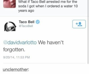 funny, taco bell, and text image