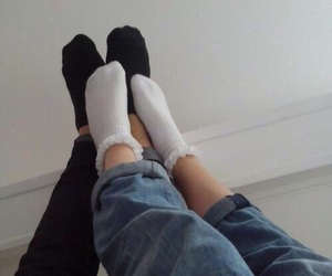couple, tumblr, and grunge image