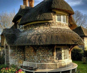 cottage, england, and countryside image