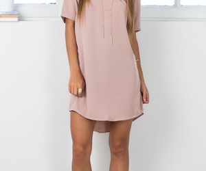 clothes, dress, and pink image