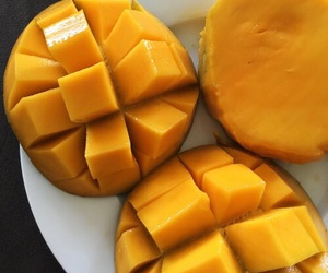 aesthetic, mangos, and bright image