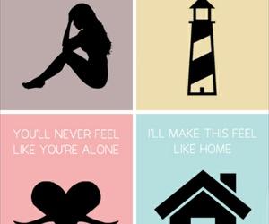 home and Lyrics image