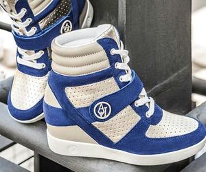 Armani, fashion, and shoes image