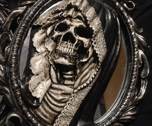 creepy, different, and gothic image