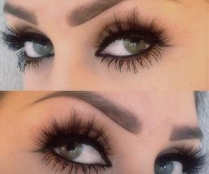 eye, inspiration, and lashes image