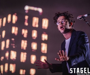 glasses, the 1975, and matty healy image