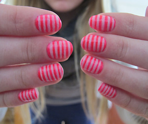 fingers, girl, and nails image