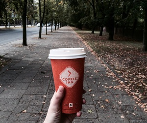 autumn, coffee, and Lithuania image