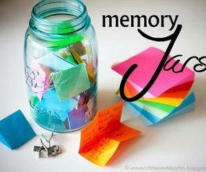 diy, jar, and memory image