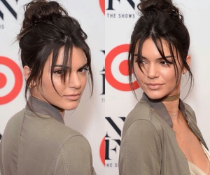 brunette and kendall jenner image