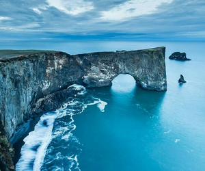 iceland, nature, and sea image
