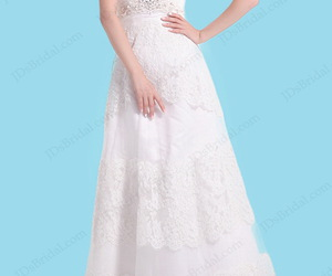 strapless, floor length, and sweetheart neck image