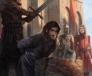kings landing, ned, and stark image