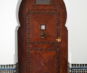door, islam, and mosaique image
