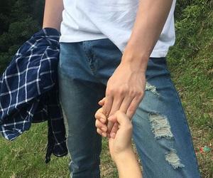 couple, asian couple, and korean couple image