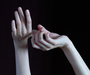 hands, pale, and aesthetic image