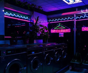 neon, aesthetic, and light image