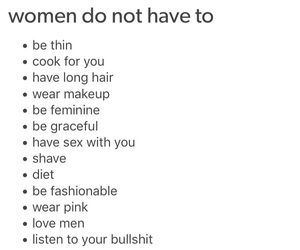 advice, feminism, and relationships image