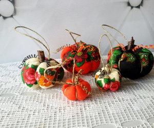 etsy, stuffed pumpkin, and thanksgiving decor image