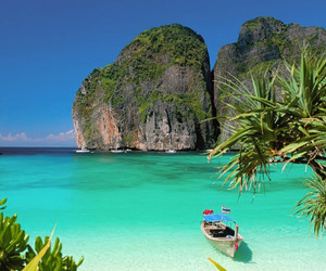 thailand, beach, and summer image
