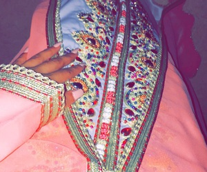 arabic, dress, and nails image