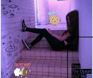 cool, girl, and grunge image