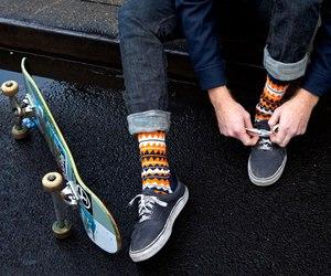 skate, indie, and socks image