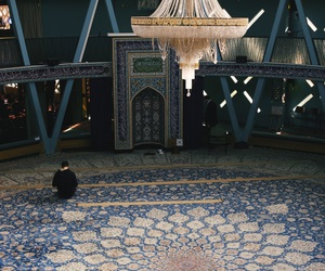 mosque, muslim, and prayer image