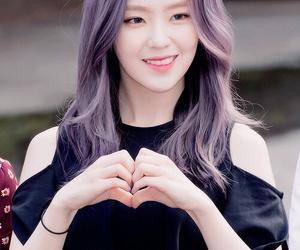 red velvet, irene, and purple hair image
