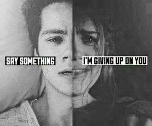 teen wolf, say something, and sad image