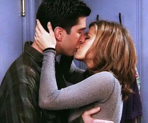 friends, couple, and kiss image