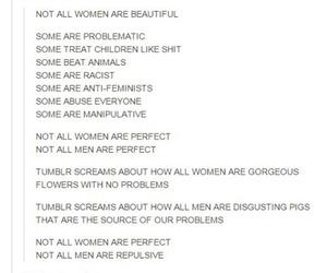 woman and tumblr post image